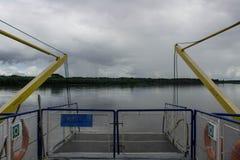 Закрытый мостк корабля Стоковые Фото