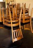 закрытый ресторан Стоковая Фотография