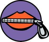 закрытый рот Стоковые Фото
