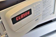 закрытый сейф гостиницы Стоковая Фотография RF