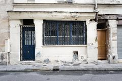 закрытый старый магазин Стоковые Изображения