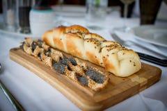 Закуска в ресторане стоковые фотографии rf