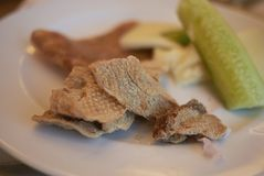 Закуска итальянки Ciccioli стоковые изображения rf