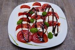 Закуска моццареллы томата Стоковое Фото