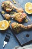 Закуска от ног жареной курицы Стоковые Изображения RF
