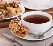 Закуска печенья бахлавы Стоковое Фото