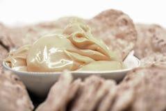 Закуска погружения сыра обломоков мозоли Стоковые Фото