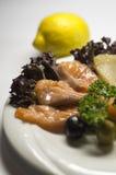 Закуска посоленная рыбами Стоковые Фото