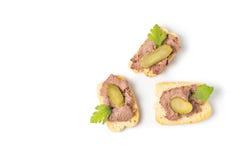 Закуска с мясом Стоковое Фото