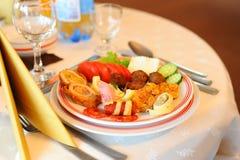Закуска таблицы свадьбы Стоковое Изображение
