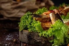 Закуска marinated сельдей Стоковая Фотография