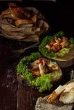 Закуска marinated сельдей Стоковое Фото