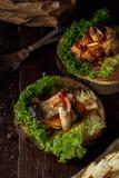 Закуска marinated сельдей Стоковое фото RF