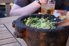Закуска Quacamole обеда Стоковое Фото