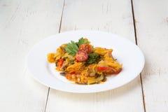 Закуска - vegetable тушёное мясо стоковые изображения rf