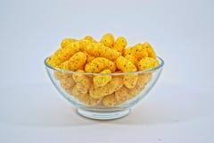 Закуски арахиса в шаре Стоковая Фотография RF