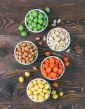 Закуски арахисов для бара партии Стоковая Фотография RF