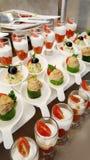 закуски в ресторане Стоковые Фото