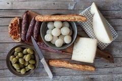 закуски итальянские Стоковые Изображения RF