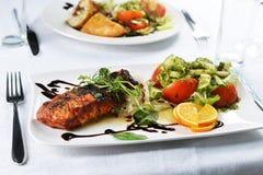 Закуски мяса и рыб Стоковое Изображение