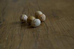 Закуски покрытые с едой Стоковое фото RF