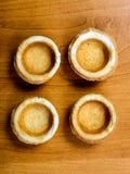 закуски хлеба на блюде на таблице Стоковая Фотография RF
