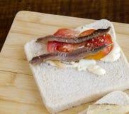 Закуски хлеба Стоковое Изображение RF