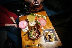Закуски для партии коктеиля Стоковая Фотография