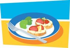 закуски Стоковое Изображение RF