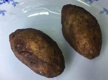 Закуски Unnakkai Кералы стоковое изображение rf
