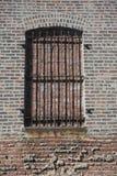 Закладыванное кирпичами окно стоковая фотография rf