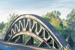 Заклепанный свод моста Стоковые Фотографии RF