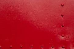 Заклепки красного цвета Стоковая Фотография RF