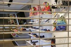 Заключение магазина багажа и ботинок Стоковые Фото