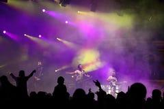Заключительный акт концерта Стоковые Изображения RF