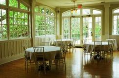 зала банкета обедая стоковое фото