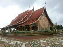 Зала виска Sirindhorn Wararam Phu Prao стоковые изображения rf
