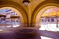 зала входа milwaukee города к Стоковое фото RF
