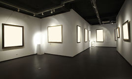 зала выставки Стоковые Фотографии RF