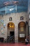 Зала галереи с Стоковое Фото