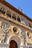 зала Испания tarazona фасада города Стоковые Фотографии RF
