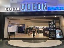 Зала кино ODEON стоковое изображение