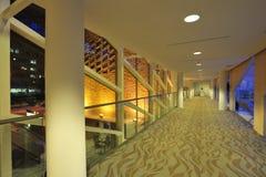 зала корридора города стоковые изображения rf