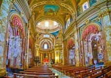 Зала молитве базилики Nadur, Gozo, Мальты стоковые фото