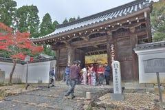 зала на Nison в виске, Киото, Японии стоковое фото