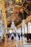 зала отражает versailles Стоковое Фото