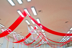 зала украшения потолка Стоковое Изображение RF