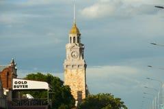 зала часов города Австралии обнаружила местонахождение городок башни perth западный Стоковая Фотография