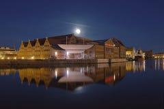 зала gdansk филармоническая стоковая фотография
