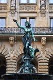 зала hamburg фонтана города стоковые изображения